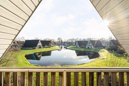 6-persoons gerenoveerd huisje aan visvijver!