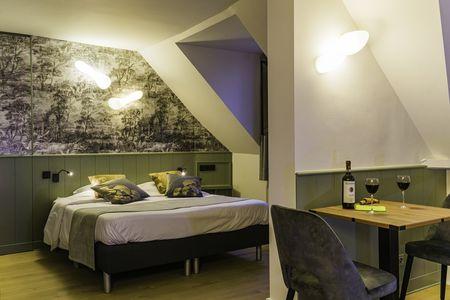 Romantische kamer met superieur zicht op het water