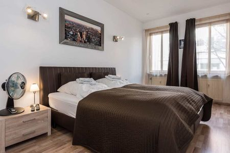 Stylish one-bedroom stay. Charmantes Zimmer