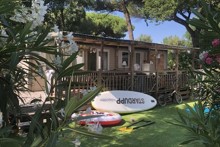 Luxe Mobilhome XL - Pampelonne strand (250 meter)