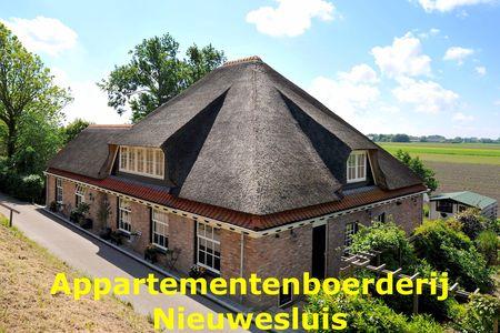 Appartement Tulp in app. boerderij Nieuwesluis