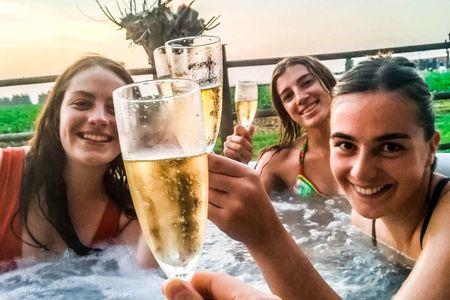 Chalet Marie |  jacuzzi - sauna - zwembad