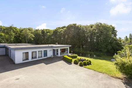 Vakantiehuis René met bos en vijver