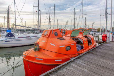 Reddingsboot - unieke ervaring op het water!