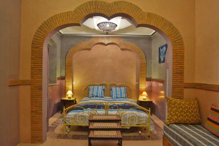 4. Kamer: Gueliz (B&B Riad Aicha Marrakech)
