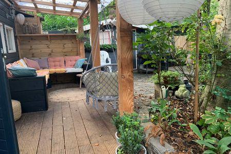 Boshuisje Zuidlaren met veel privacy en houtkachel