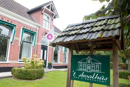 In stijl logeren op het Friese platteland