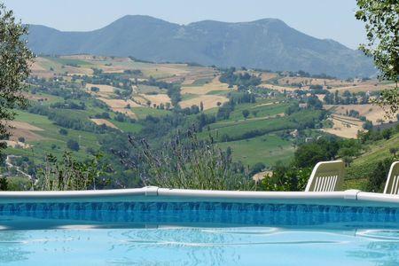 Rust en een adembenemend uitzicht in Le Marche