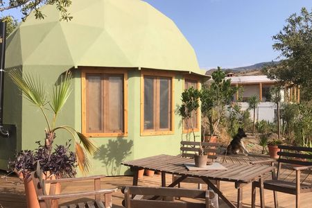 Off grid holiday in Dome on amazing location