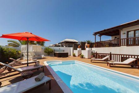 een plaats onder de canarische zon - Villa Goa